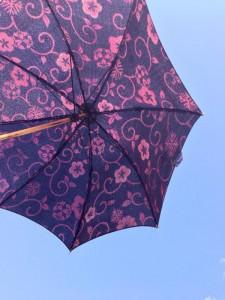 着物の日傘