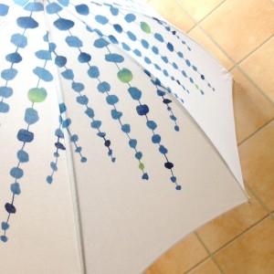 シーグラスの日傘